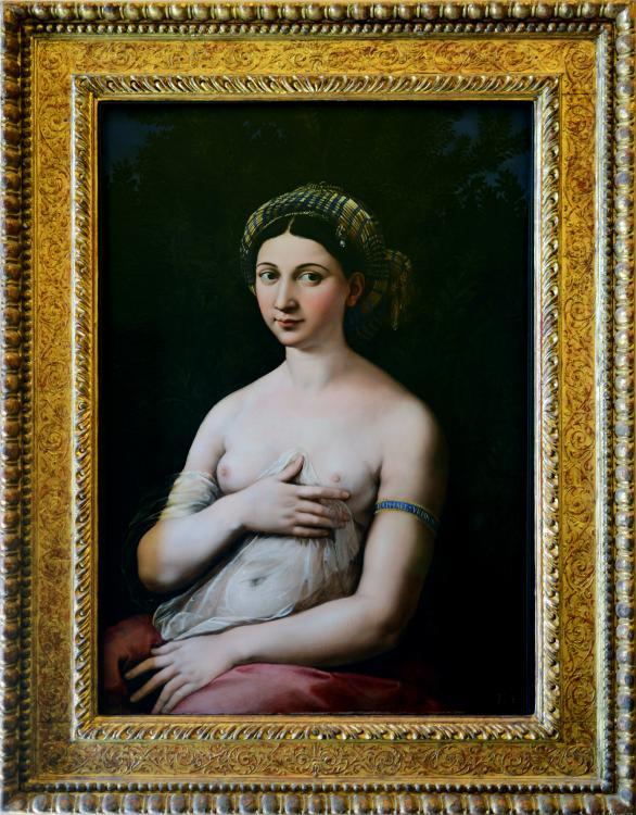 Portret młodej kobiety (La Fornarina)