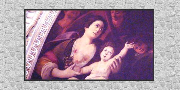 La Madonna libera Milano dalla peste